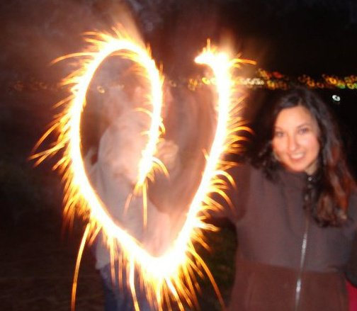 My magic skills on the 4th of July - Sparkler Love