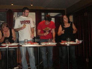 The pie eating contest