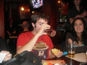 Brian's victory beer
