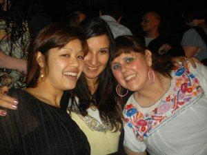 Cassandra, Bella and I