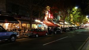 Lygon Street - at night