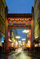 arches in China Town