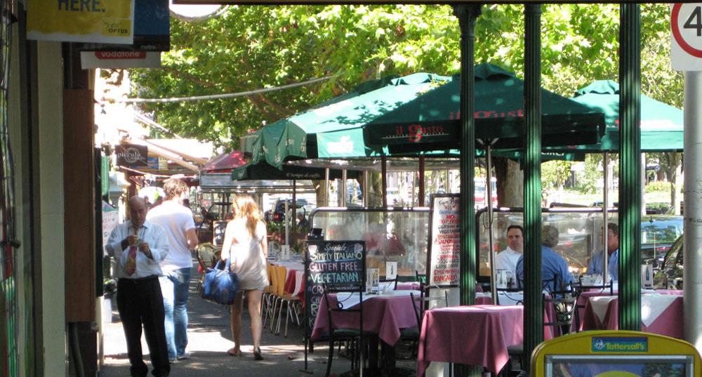 Italian Restaurants Brunswick Street Fitzroy