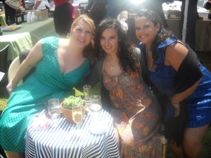 Cristina, Lisa-Marie and myself at the car park