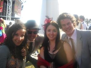 Cam, Helen, Joseph and I