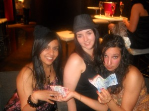 Leena, Helen and I (as we usually roll) hah...