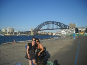 Clem and I on Darling Harbor