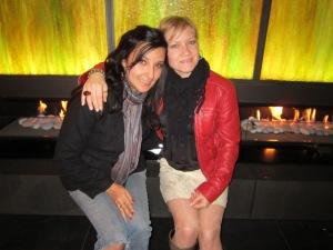 Liz and I