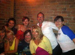 Shannon, Kirstin, CJ, Kandie, Jessi, Michael, Rhienn and I