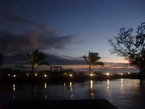 Tahiti - evening