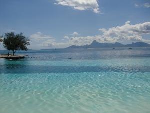 The pool/ocean