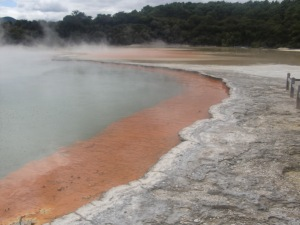 Champagne Pool - the colors were more vivid there