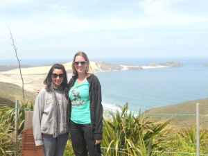 Amanda and I at Cape Reinga