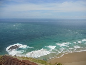 Intersection of the Pacific Ocean and the Tasman Sea