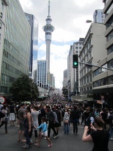 Surviving the streets of Auckland - Rugby World Cup Finals Weekend