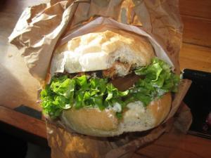 breakfast in queenstown.. ferg burger