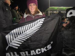 bekah stealing some married dudes flag.. no joke :)