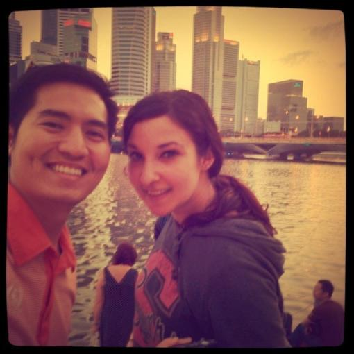 Rudy and I in Singapore