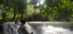 Kuang Xi Waterfall - first part