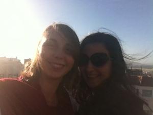 Natalie and I