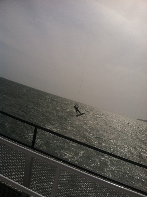 Proud of this pic.. a wind surfer (I think is the name)