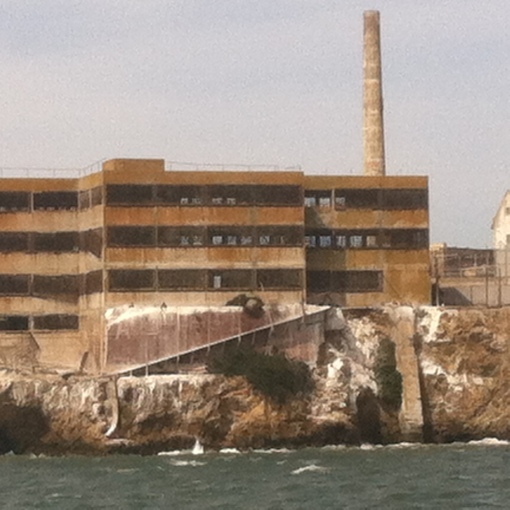Alcatraz.. although the building vaguely resembles entercom.. kidding, kidding
